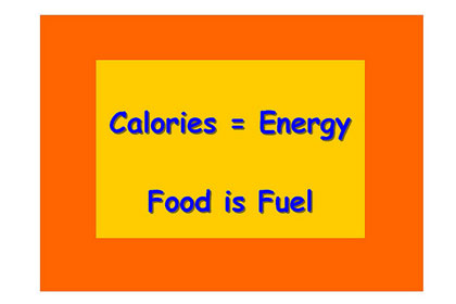 More calories bring more energy and weight gain