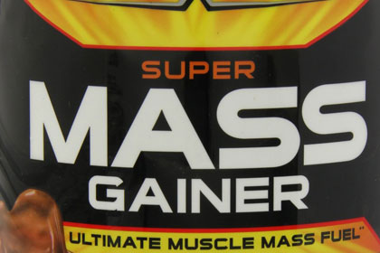 Super Mass gainer Supplements red Label